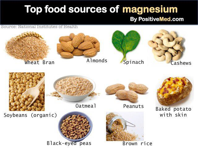 magnesio benessere